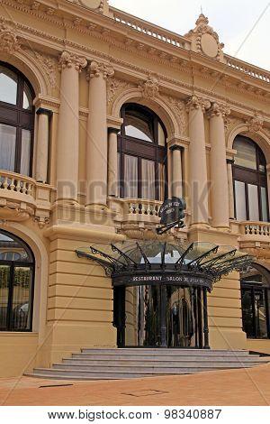 Restaurant Salon De Jeux Prives Inside Casino Of Monte Carlo
