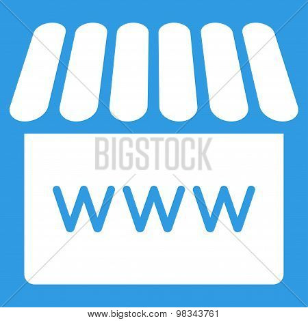 Webstore icon from Business Bicolor Set