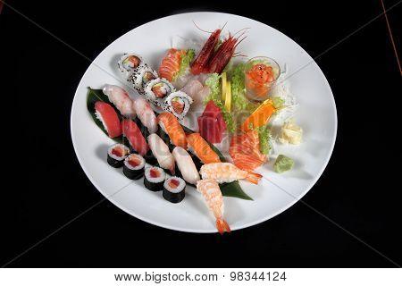 Sushi Round Plate