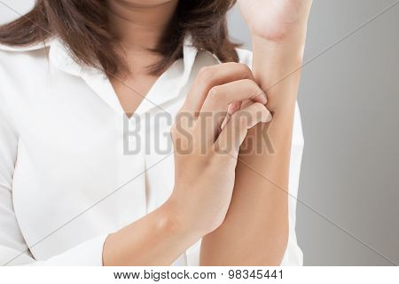 Itching In A Woman