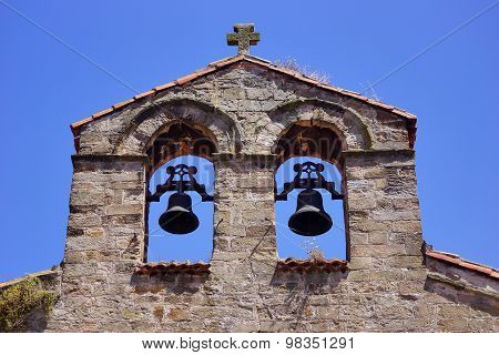 Tower bell and blue sky