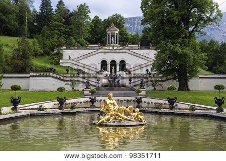 Park Of Castle Linderhof, Bavaria