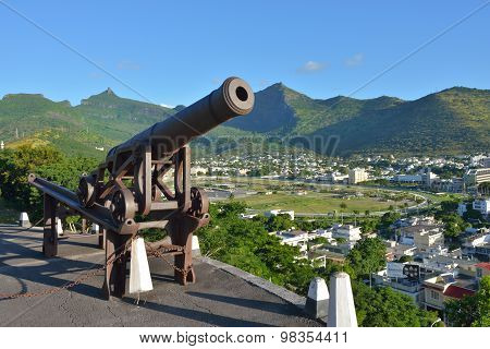 Port Louis,  The Capital Of Mauritius
