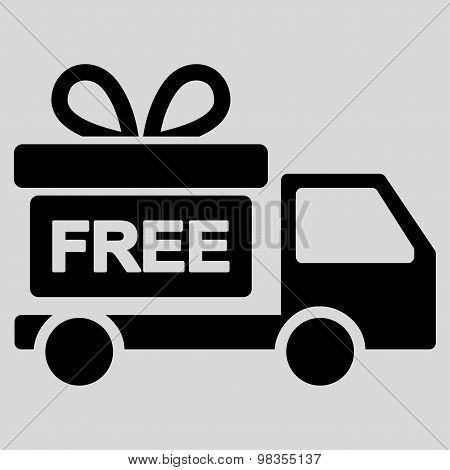 Gift delivery icon from Business Bicolor Set
