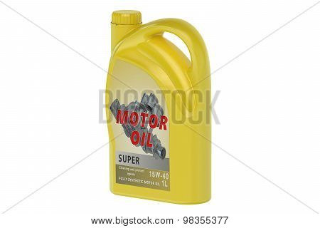 Yellow Canister Motor Oil 1L