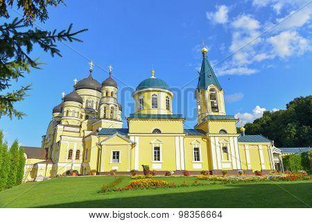Monastery  Hincu, Moldova
