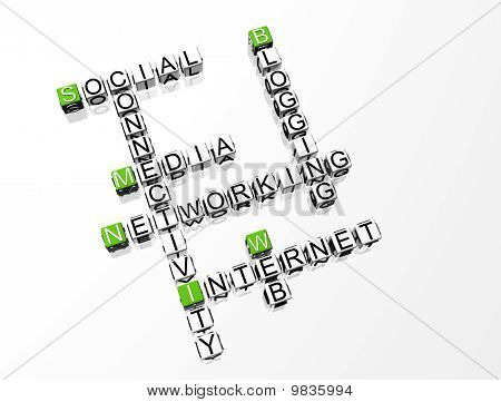 Social Network Crossword