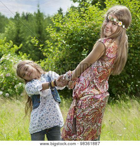 Flower Children Outdoors