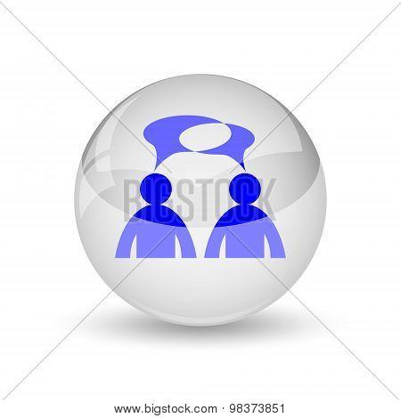 Comments Icon - Men With Bubbles