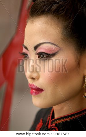 Chinese Model Portrait