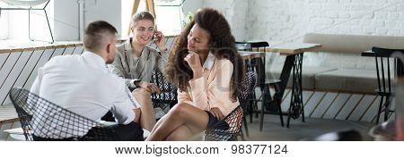 Spending Time In The Restaurant