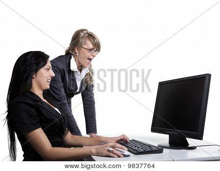 Business Women Teamwork