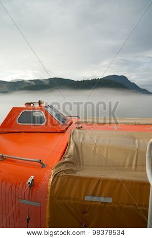 Rescue Boat Survival Pod Ship Transportation Safety Vessel