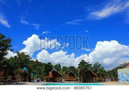 Phayun Beach In Ban Chang District Of Rayong Province