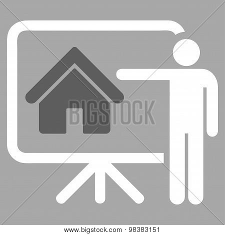 Realtor icon from Business Bicolor Set