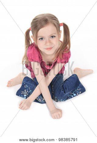 A beautiful girl child