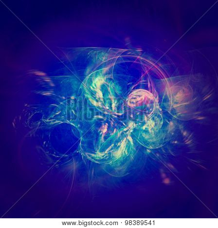 Highly detailed grunge abstract textured fractal collage design ,background or texture with space for your text