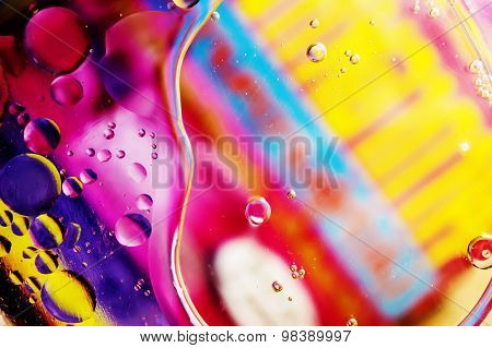 Oil Drop Abstract