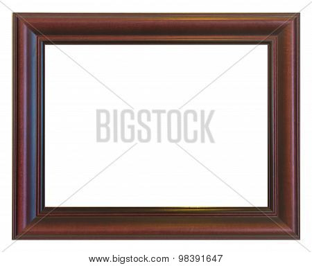 Picture Frame Brown Wood Frame