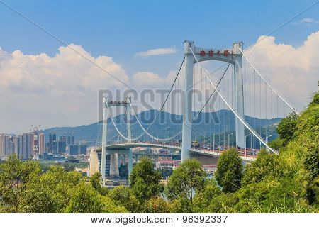Haicang Bridge In Xiamen