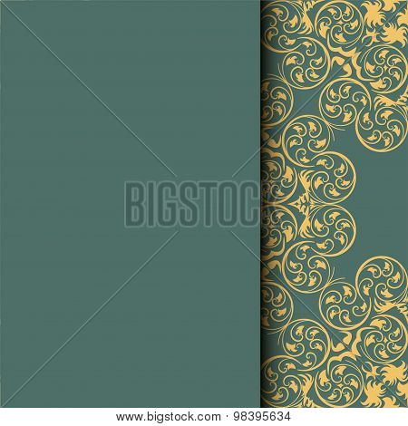 Ethnic Pattern. Abstract Greeting Card