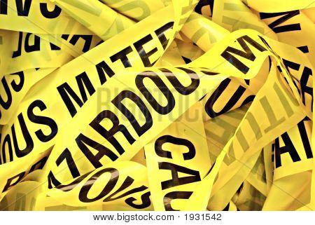 Hazardous Material Tape
