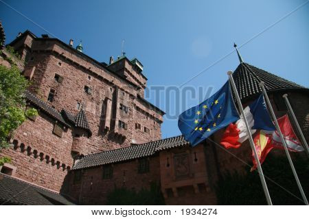 Castle Of Haut-Koenigsbourg, Alsace, France