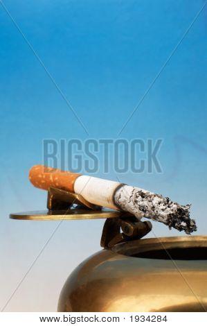 Stub Of A Cigarette