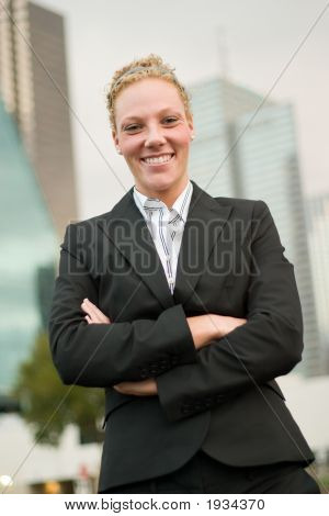Urban Business Woman 4