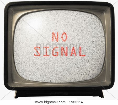 No Signal Tv Noise