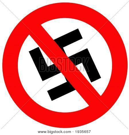 Anti Nazi Sign
