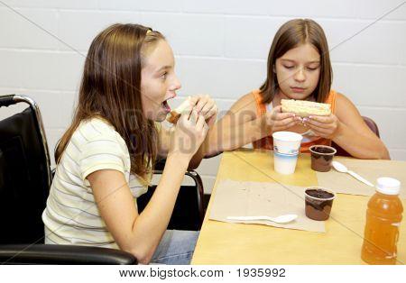 School Lunch - Take A Bite