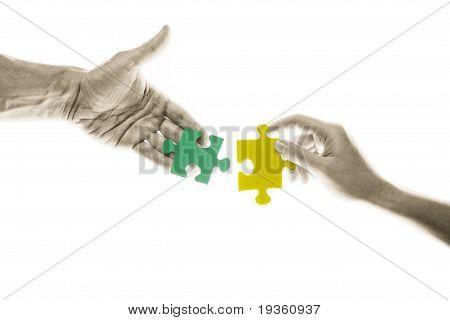 Puzle connection
