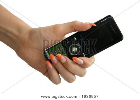 Phone In A Hand