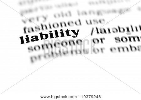 Haftung (das Wörterbuchprojekt)