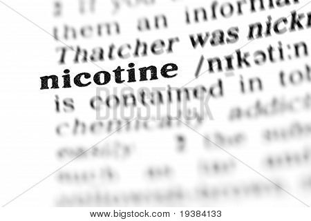 Nicotine (the Dictionary Project)