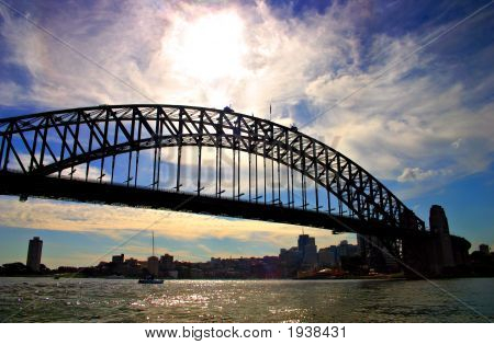 Sydney Harbour Bridge..