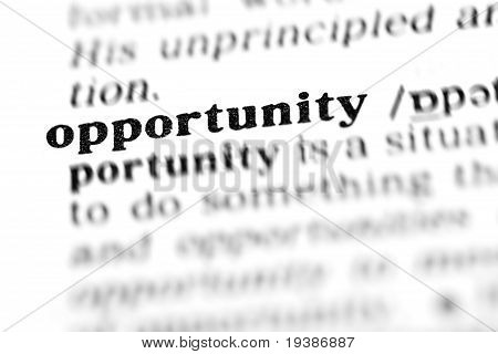 Opportunity (the Dictionary Project)