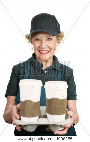 Senior Worker - Coffee Server