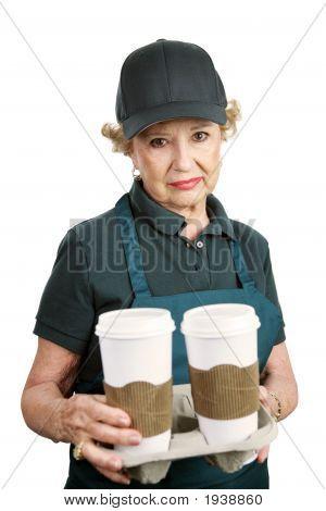 Senior Worker - Unable To Retire