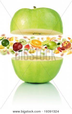 Multivitamin apple