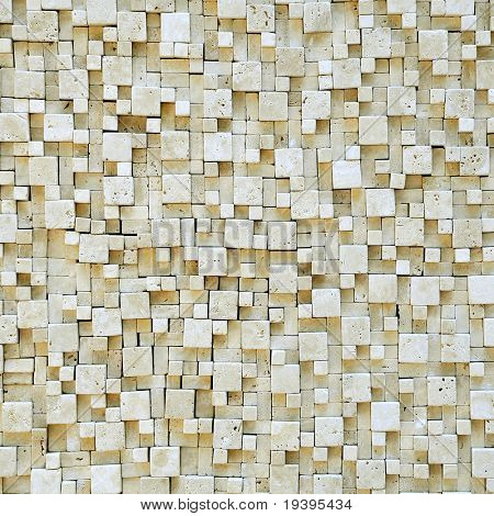 Marble mosaic texture.