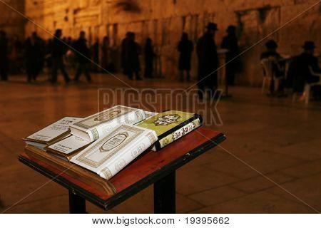 sacred western wall. Jerusalem