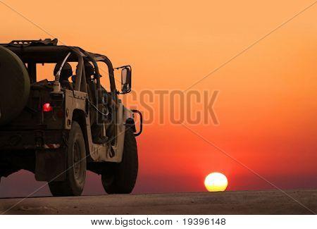 Militärpatrouille