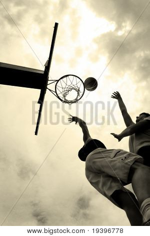 Im Moment im basketball