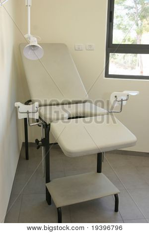 Gynecologic armchair. The medical center