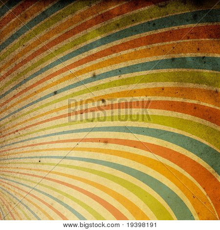 Abstract vintage rays background. Useful as background for design works.