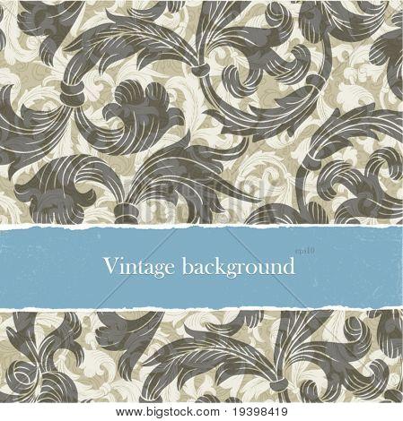 Backgrounds vintage conjunto com copyspace. Fácil editável por camadas, eps10.