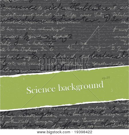 Science backgrounds set with copyspace. Easy editable by layers, eps10.