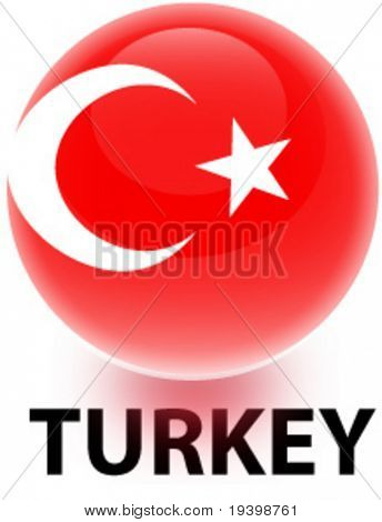 Orb Turkey Flag